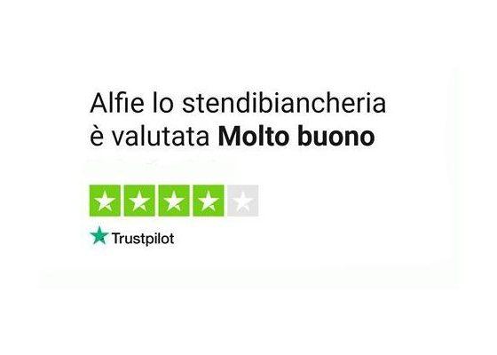 Le recensioni di Alfie su Trustpilot